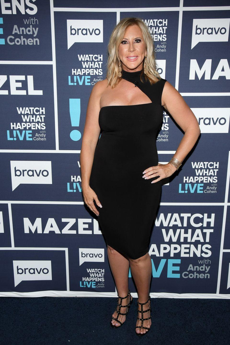 """<p>The O.G. of the O.C., Vicki Gunvalson, <a href=""""https://www.instagram.com/p/B7uSDKyFr7m/"""" rel=""""nofollow noopener"""" target=""""_blank"""" data-ylk=""""slk:ended her run"""" class=""""link rapid-noclick-resp"""">ended her run</a> on the <em>Real Housewives of Orange County</em> after a record 14 seasons. Vicki was the original <em>Real Housewives</em> star—since making her debut on Bravo in 2006, she was at the center of the series' transformation from a voyeuristic look """"behind the gates"""" into the dramatic series that we all came to know and love. Her final season on the show was fraught with tension with Bravo after she was <a href=""""https://radaronline.com/videos/vicki-gunvalson-demoted-rhoc-not-in-cast-pic-friend-not-fulltime-housewife/"""" rel=""""nofollow noopener"""" target=""""_blank"""" data-ylk=""""slk:demoted"""" class=""""link rapid-noclick-resp"""">demoted </a>from full-time Housewife to Friend, because she didn't have a storyline for the new season.</p>"""