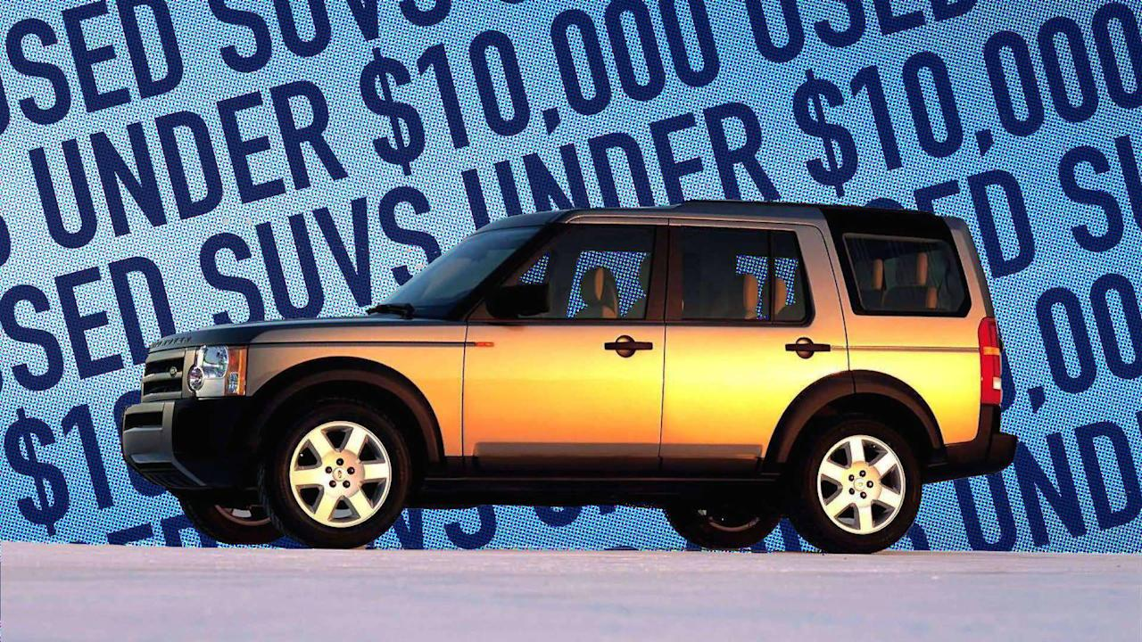 """<p>The average price of a new car is now over $35,000,which meansthe average price of anSUV, which usuallycosts more,is even higher. Buying a new SUV may not be in your budget, but that doesn't mean you have to miss out on what has made these vehicles so popular: their rugged good looks, mass-hauling capability, and family friendliness.</p> <p>Even if your budget is as low as $10,000, we've found 10 great SUVs you can buy with money to spare.</p>  <h2>Maybe You Want A Convertible:</h2> <ul> <li><a rel=""""nofollow"""" href=""""https://www.motor1.com/features/70896/best-used-convertibles-for-under-10000/"""">Best Used Convertibles For Under $10,000</a></li> </ul> <br>"""