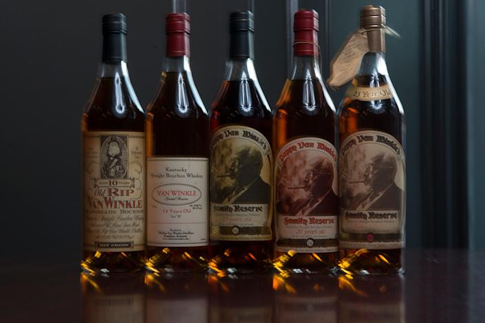 The suggested retail price of Pappy Van Winkle goes up to around $300 per bottle,but most people who find it generally wind up paying much more. (Photo: The Washington Post via Getty Images)