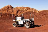 The team will test a robotic rover during their mission, the Amadee-20 Mars simulation (AFP/JACK GUEZ)