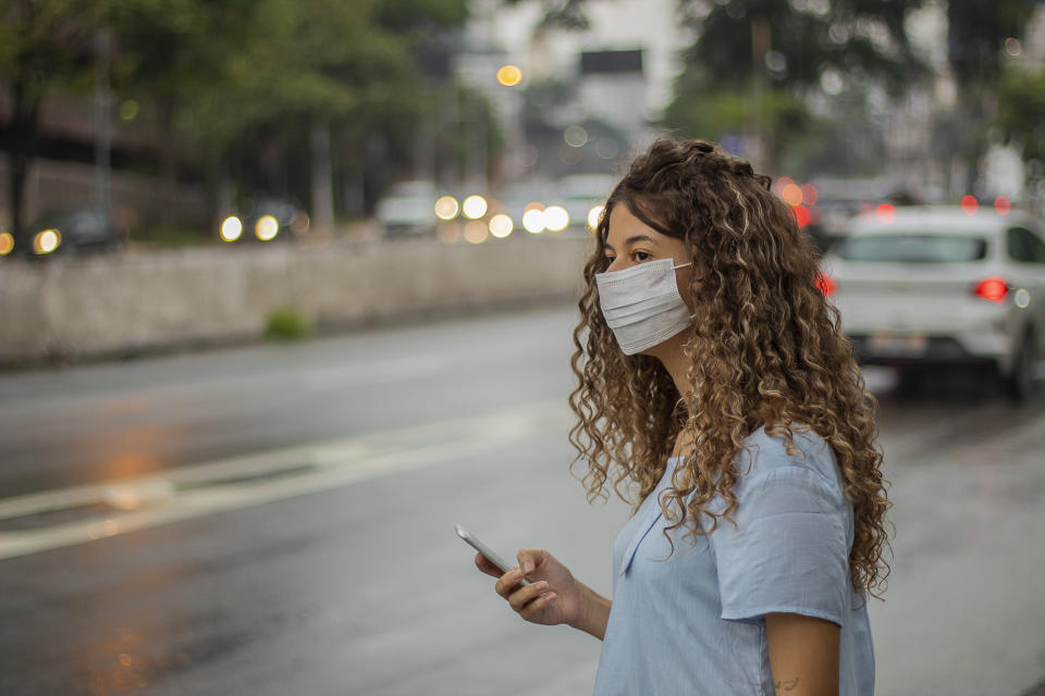 A study from Italy found a gene specific to the coronavirus in air pollution particles. Experts say it's no reason to panic. (Photo: Getty Images).