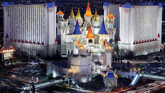 """The Excalibur hotel-casino reopened June 11. <span class=""""copyright"""">(MGM Resorts)</span>"""