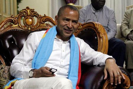 FILE PHOTO: Democratic Republic of Congo's opposition Presidential candidate Moise Katumbi talks to his supporters after leaving the prosecutor's office in Lubumbashi, the capital of Katanga province of the Democratic Republic of Congo, May 11, 2016. REUTERS/Kenny Katombe/File Photo