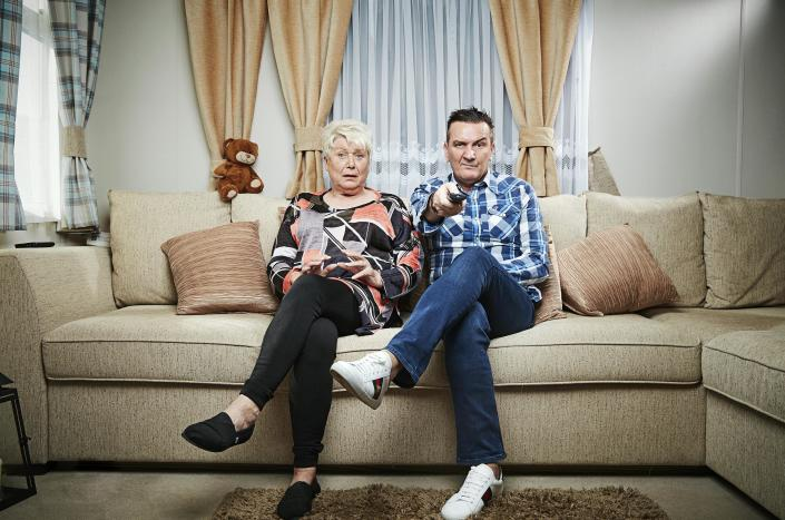 Jenny and Lee. (Channel 4)
