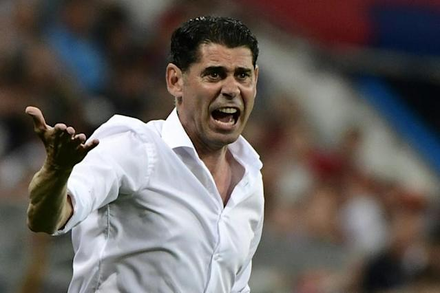 Coach Fernando Hierro says Spain face a tough challenge at the World Cup
