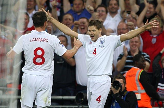 Steven Gerrard, pictured, has tipped Frank Lampard to make a quick return to management after being sacked by Chelsea
