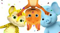 "<p>This show, created by the Jim Henson Company, is about four baby animals who are trying to learn new words. Your little ones get to play the part of the ""big kids"" who help them figure the new words out. (Way to make them feel smart!)</p><p><a class=""link rapid-noclick-resp"" href=""https://www.netflix.com/title/80063705"" rel=""nofollow noopener"" target=""_blank"" data-ylk=""slk:WATCH NOW"">WATCH NOW</a></p>"