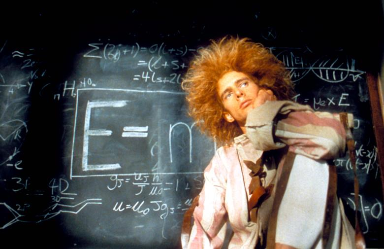 No Merchandising. Editorial Use Only. No Book Cover Usage. Mandatory Credit: Photo by Moviestore/REX/Shutterstock (1642723a) Young Einstein, Yahoo Serious Film and Television