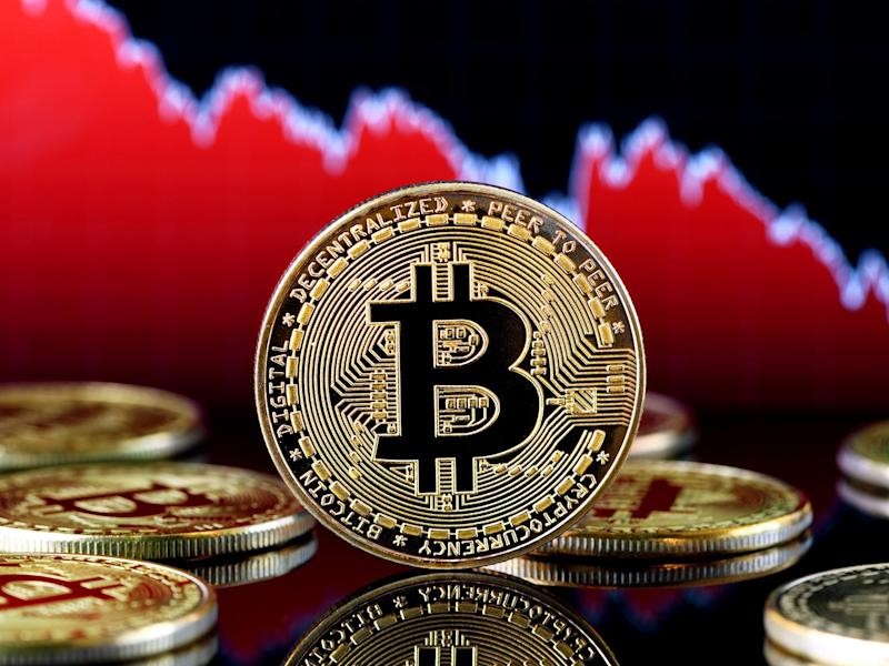 The price of bitcoin tripled between January and August 2019 before a cryptocurrency market crash knocked thousands of dollars from its value in late September: Getty Images