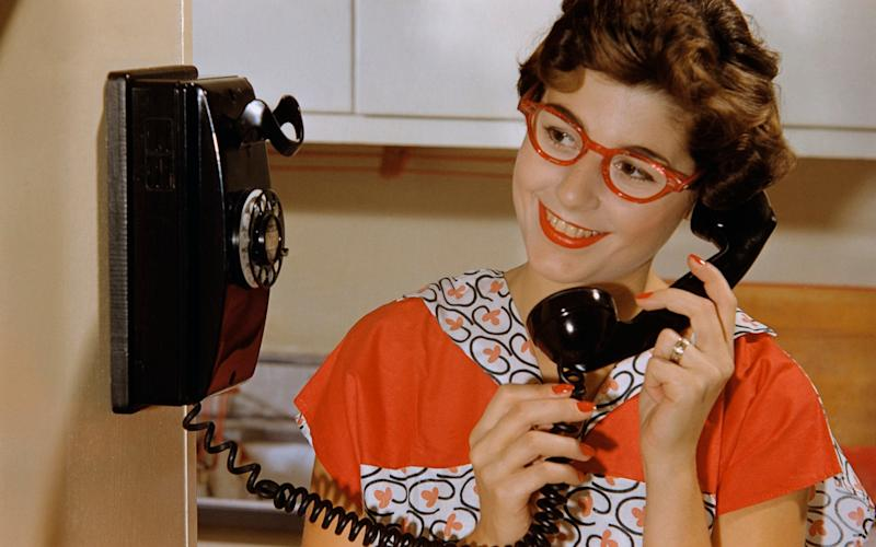 The reader wants theirold telephone number back - Corbis Historical