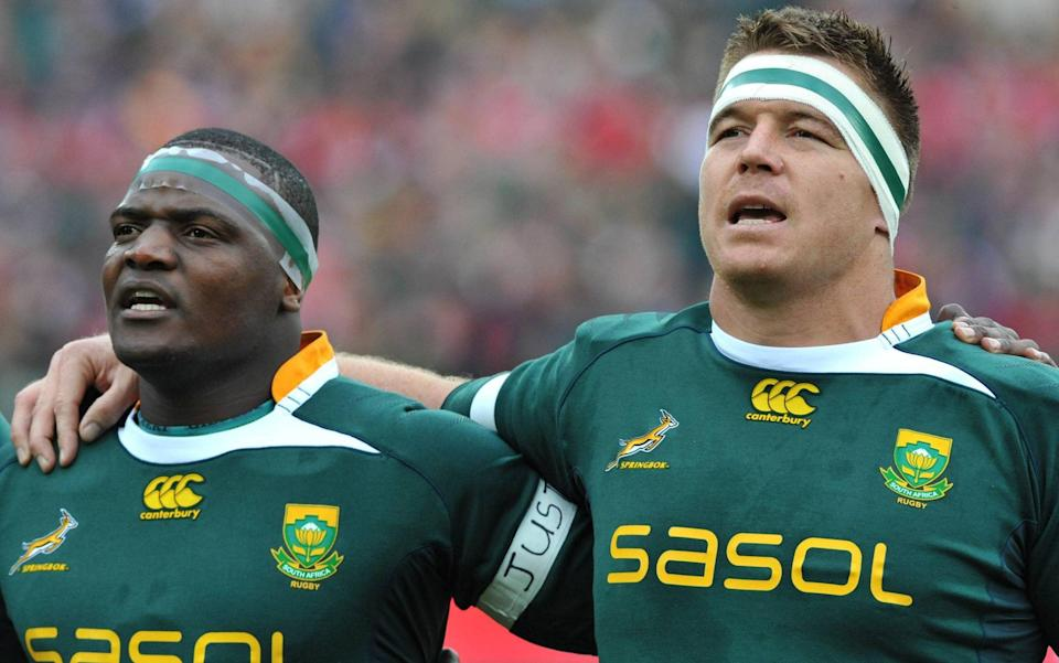 South Africa have drawn a false equivalence - criticism of Owen Farrell has shown it's about being a good captain - GETTY IMAGES