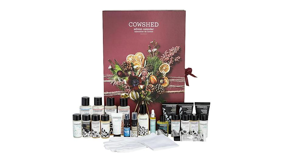 <p>Natural bath and body brand Cowshed has thrilled fans with another advent calendar this year, jam-packed with some of its best-selling products. This one will set you back £90. <em>Available at John Lewis.</em> </p>