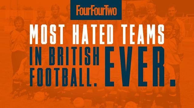 Peak Pulis, malevolent Millwalland the arrival of Fergie Time.FFT reveals the 10 most loathed sides in the history of the British game