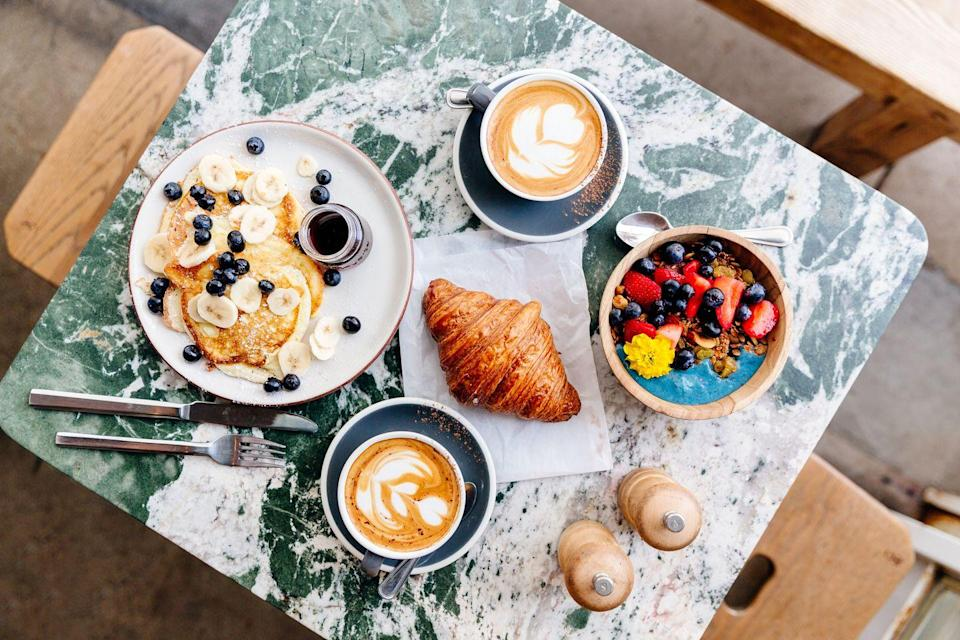 <p>Another one for the foodies in the house: There's no reason you can't have a fancy brunch at home. Make your fave recipes, grab a pitcher for mimosas, and really do it up.</p>
