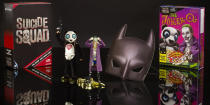 <p>Jared Leto's Clown Prince of Crime and his henchman are available as fully articulated 2.6-inch versions of their <i>Suicide Squad</i> selves. The set comes complete with a Batman mask to channel your inner Affleck. ($40)</p>