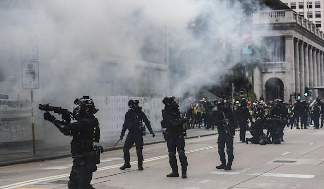 Social unrest surrounding months of anti-government protests was cited by some respondents to the survey. Photo: Sam Tsang
