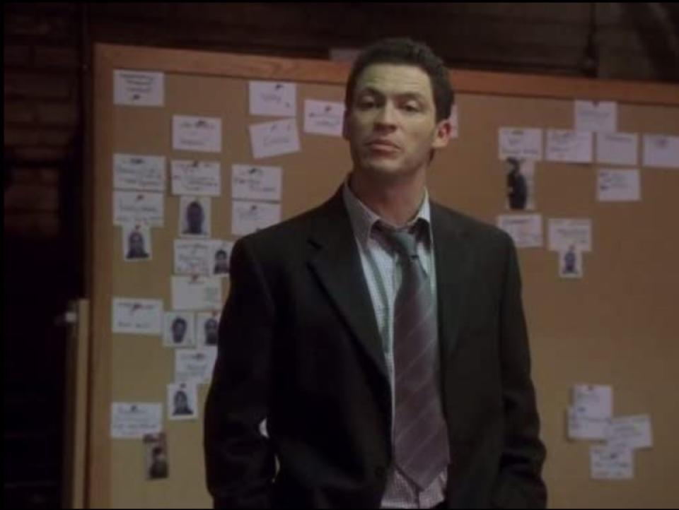 dominic west on the wire still