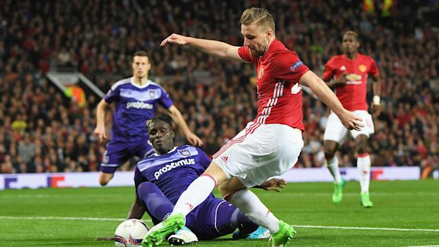 Having struggled for game time for much of the season, Luke Shaw is now hoping to take his chance in the Manchester United team.