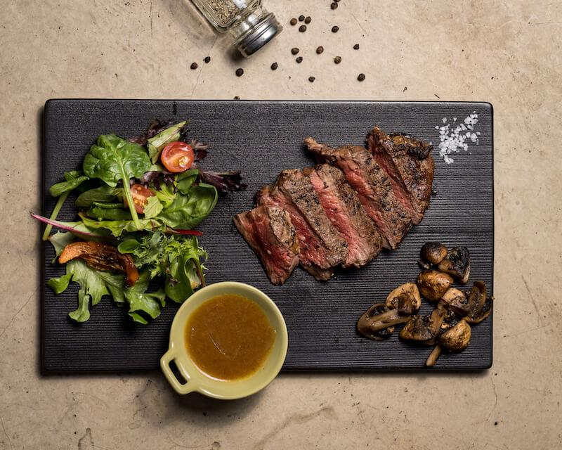 Whisky ribeye. Photo: Homeground Grill & Bar
