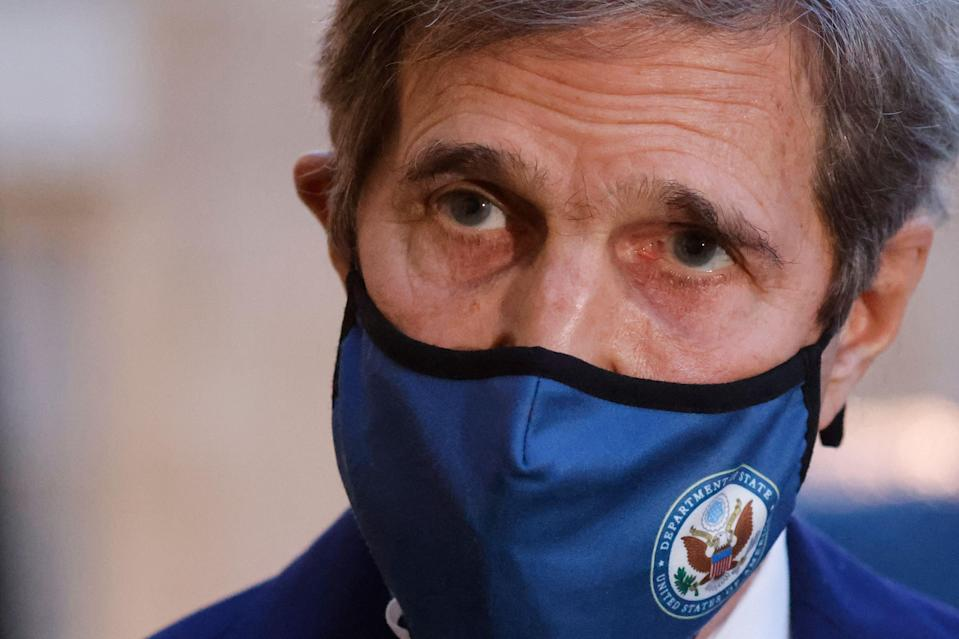 US Special Presidential Envoy for Climate, John Kerry (AFP via Getty Images)