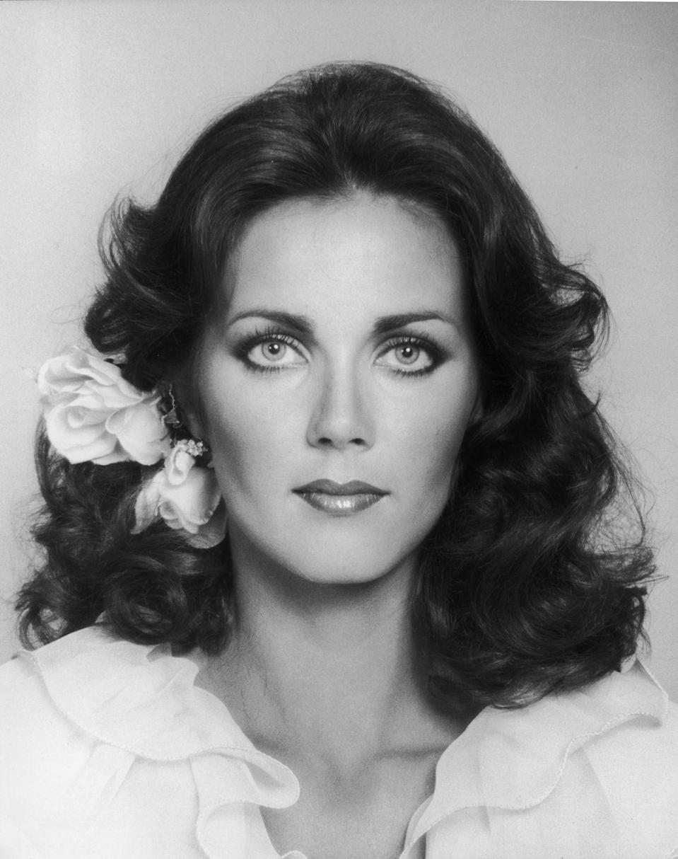 <p>Lynda Carter became notable after winning the Miss World USA beauty pageant in 1972 representing Arizona. After, Carter pursued a career in acting and appeared in guest spots on TV shows like <em>Nakia</em> and <em>Starsky and Hutch</em>. In 1975 that her superpowers kicked in and she was cast in the <em>Wonder Woman </em>TV show.</p>