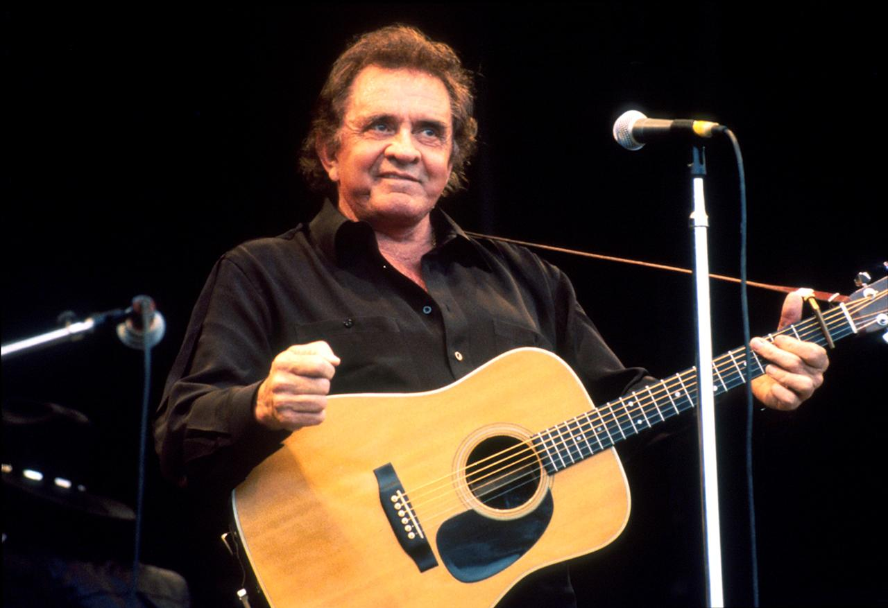 "Johnny Cash: ""The Man in Black"" In 1971, Cash offered a fanciful explanation for his all-black garb, in song: ""I wear the black for the poor and the beaten down/Livin' in the hopeless, hungry side of town… I wear the black in mournin' for the lives that could have been/Each week we lose a hundred fine young men… I'd love to wear a rainbow every day… (but) till things are brighter, I'm the Man in Black."" Which, of course, was absolute bull as self-explanation, even if it was brilliant as poetry. Cash admitted in his own memoirs that he just liked the look of it, although other reasonable explanations have arisen, including the idea that that was the best way for a band on a budget in the mid-'50s to have matching outfits."