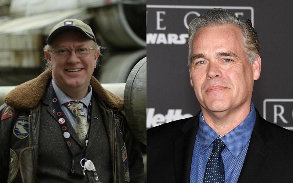 Two of 'Rogue One's editors - L-R Colin Goudie and John Gilroy (Credit: IMDB/Getty Images)