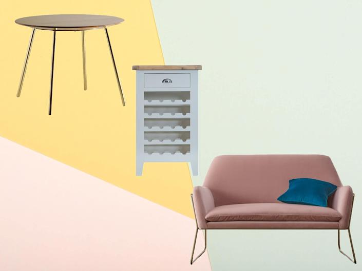Invest in items to decorate your home with from the best of the online furniture sales: The Independent