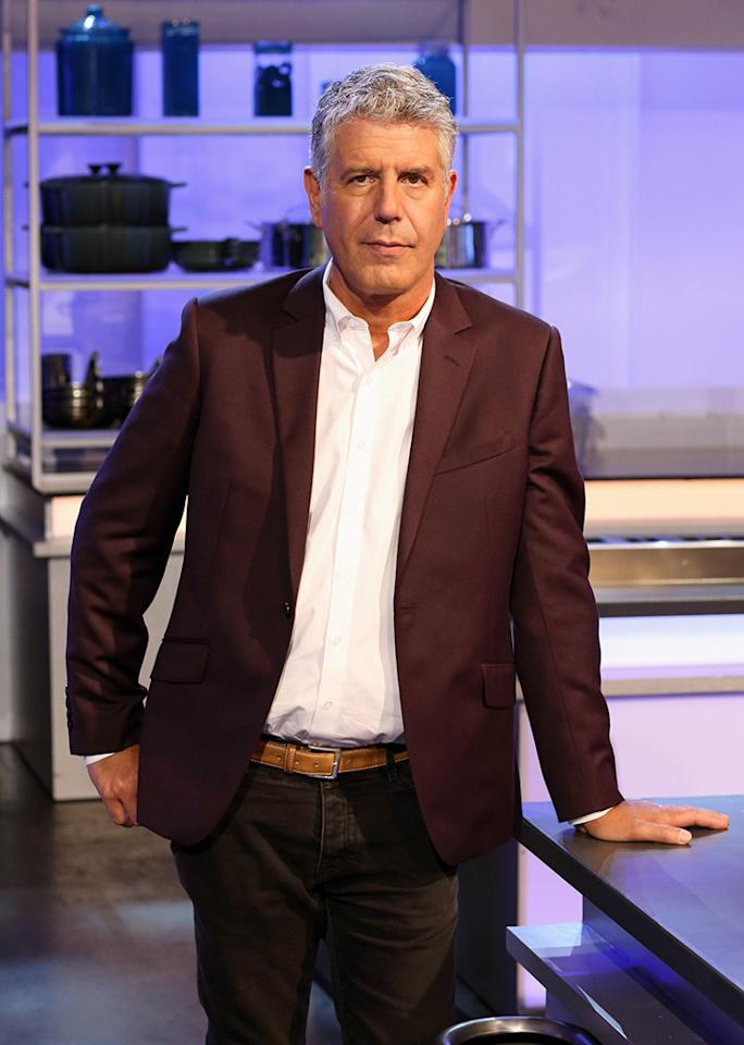 "ABC's ""The Taste"" features no-holds barred chef Anthony Bourdain."