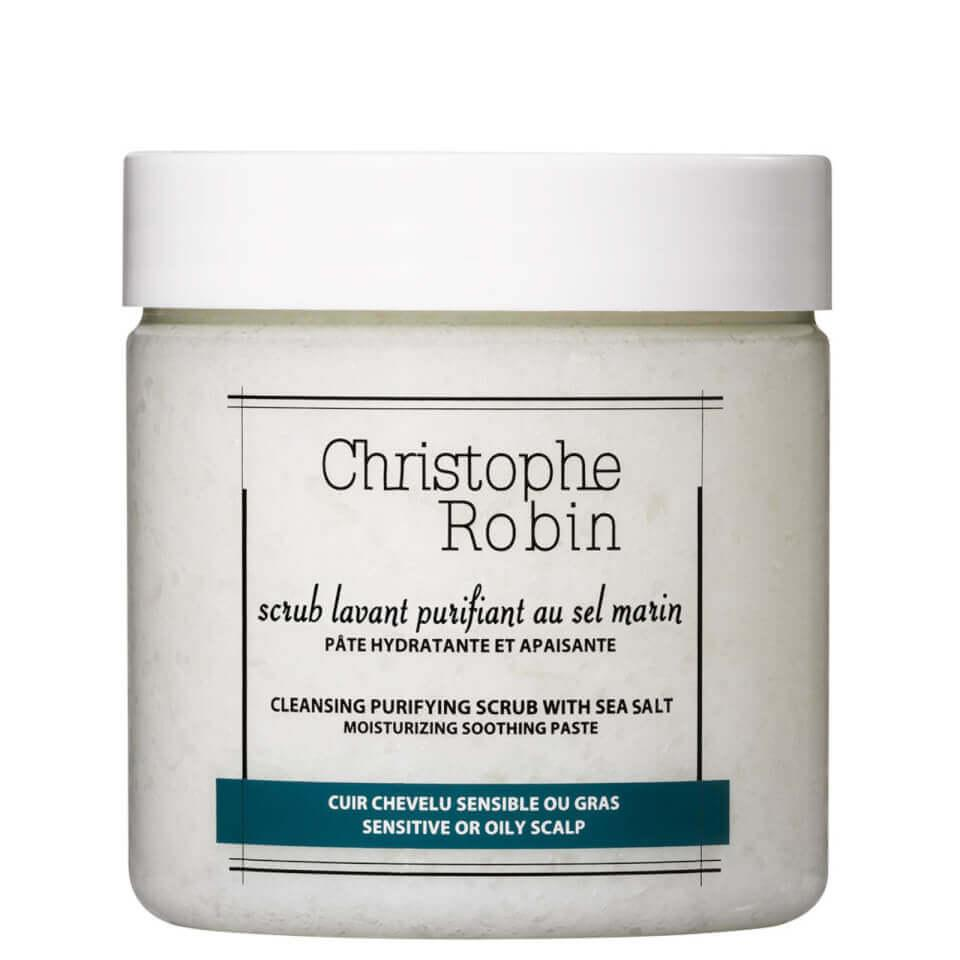 "<h3>Christophe Robin Cleansing Purifying Scrub with Sea Salt</h3><br>Banish flakes and oil with this beloved, fancy-pants scalp scrub that refreshes roots and boosts volume.<br><br><strong>Christophe Robin</strong> Cleansing Purifying Scrub with Sea Salt, $, available at <a href=""https://go.skimresources.com/?id=30283X879131&url=https%3A%2F%2Ffave.co%2F3ftzpGo"" rel=""nofollow noopener"" target=""_blank"" data-ylk=""slk:LookFantastic"" class=""link rapid-noclick-resp"">LookFantastic</a>"