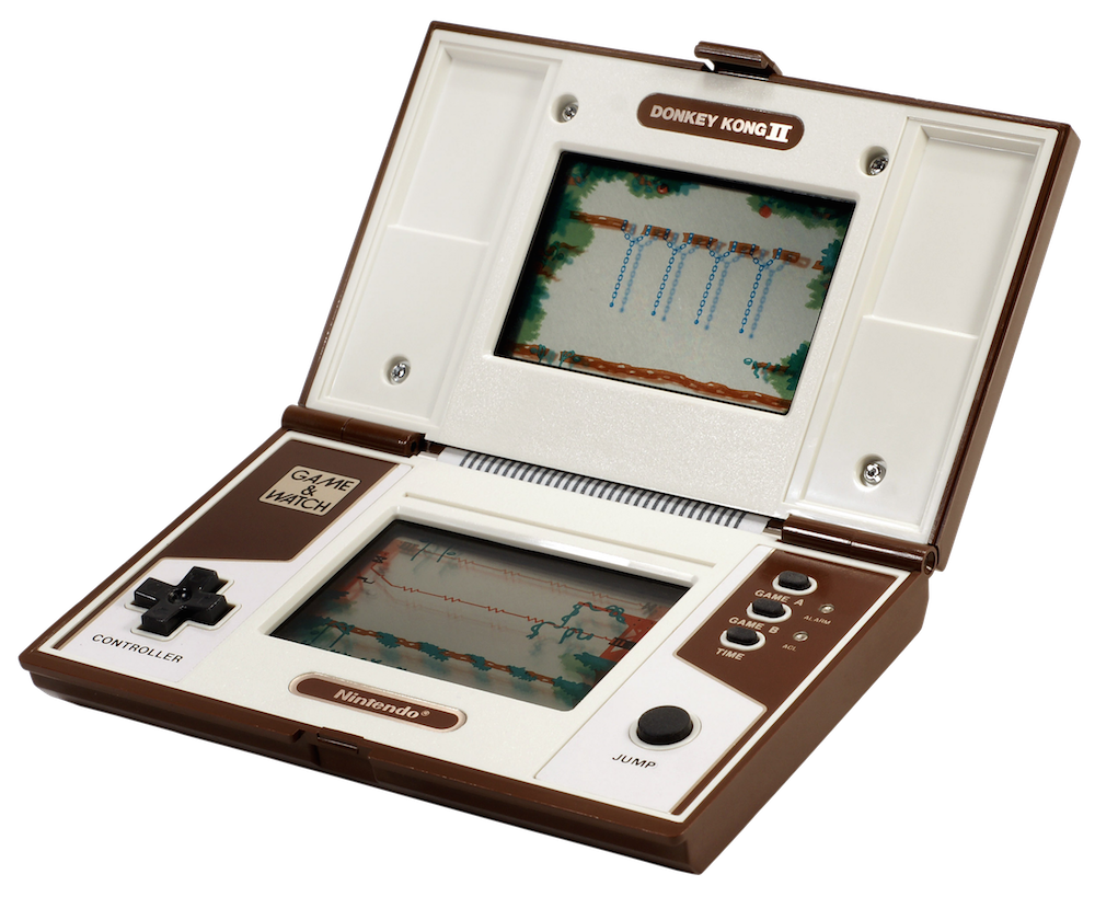 <p>Made between 1980 and 1991, these one-game portables featured a built-in LCD screen and eventually inspired Nintendo to create the Game Boy. Classic titles like Donkey Kong, Super Mario Bros. and Zelda. (Evan-Amos/Wikipedia) </p>