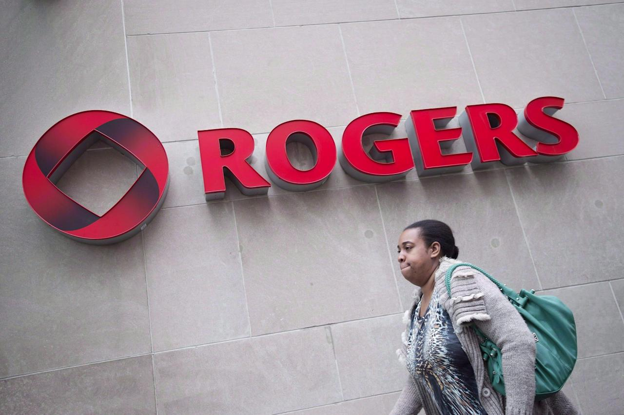 <p>No. 8: Rogers Wireless<br />Rating: 713<br />(THE CANADIAN PRESS/Darren Calabrese) </p>