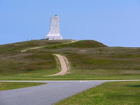The site is close to the Wright Brothers National Memorial - Credit: Copyright 2016/Moelyn Photos