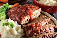 """<p>Next time you get a hankering for old-fashioned comfort food, this upgraded version of the classic meatloaf won't let you down. The addition of walnuts provides a rich source of polyunsaturated fatty acids, which have been shown to <a href=""""https://www.menshealth.com/nutrition/g19525627/foods-that-naturally-lower-cholesterol/"""" rel=""""nofollow noopener"""" target=""""_blank"""" data-ylk=""""slk:lower cholesterol"""" class=""""link rapid-noclick-resp"""">lower cholesterol</a>.</p><p>The <a href=""""https://www.menshealth.com/nutrition/a19525973/meatloaf-with-walnuts-cravings-without-calories/"""" rel=""""nofollow noopener"""" target=""""_blank"""" data-ylk=""""slk:recipe"""" class=""""link rapid-noclick-resp"""">recipe</a>.</p>"""