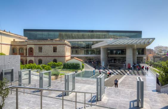 More than two million people visit the Acropolis Museum each year (Lefteris/Getty)