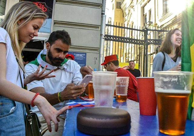 A surge in beer sales is unlikely to live out the World Cup (AFP Photo/Vasily MAXIMOV)