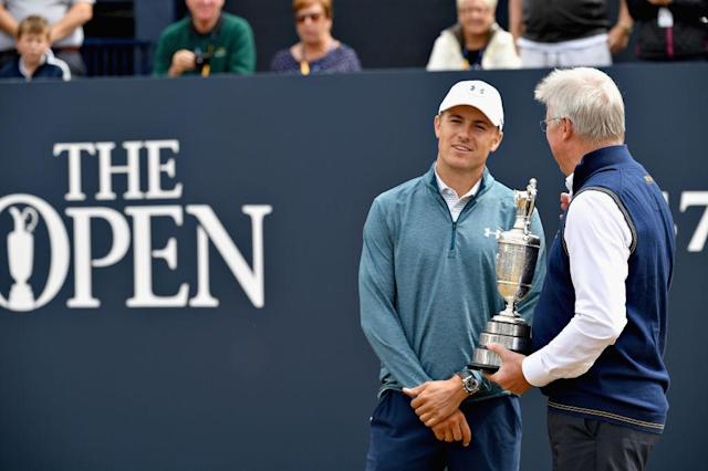 Defending Open champion Jordan Spieth has surrendered the Claret Jug; who will win it this year? (Getty)