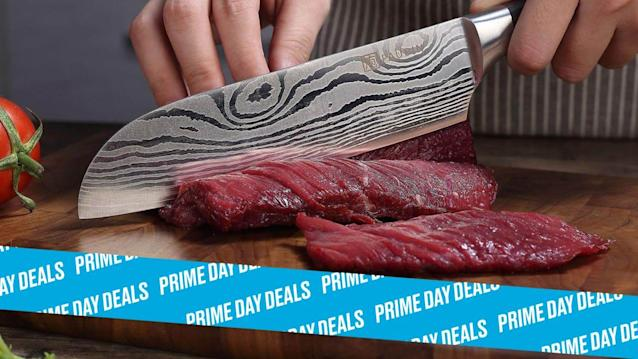 Photo Illustration by Elizabeth Brockway/The Daily Beast * Paudin Classic 7-Inch Santoku Knife, $26 (58% off). * German high carbon stainless steel, pakkawood handle, high style * Shop the rest of our other Prime Day deal picks here. Not a Prime member yet? Sign up here.The Santoku knife is built to perform just like a chef's knife, ready to handle anything and everything whenever you need it to. And this highly-rated and stylish santoku knife is a great example. Constructed with German steel and an ergonomic pakkawood handle, there's a reason more than 450 reviewers left it a 4.6-star average rating. For a solid kitchen upgrade at less than $30, don't let this price cut swipe by before grabbing it.   Get it on Amazon >Let Scouted guide you to the best Prime Day deals. Shop Here >Scouted is internet shopping with a pulse. Follow us on Twitter and sign up for our newsletter for even more recommendations and exclusive content. Please note that if you buy something featured in one of our posts, The Daily Beast may collect a share of sales.Read more at The Daily Beast.Got a tip? Send it to The Daily Beast hereGet our top stories in your inbox every day. Sign up now!Daily Beast Membership: Beast Inside goes deeper on the stories that matter to you. Learn more.