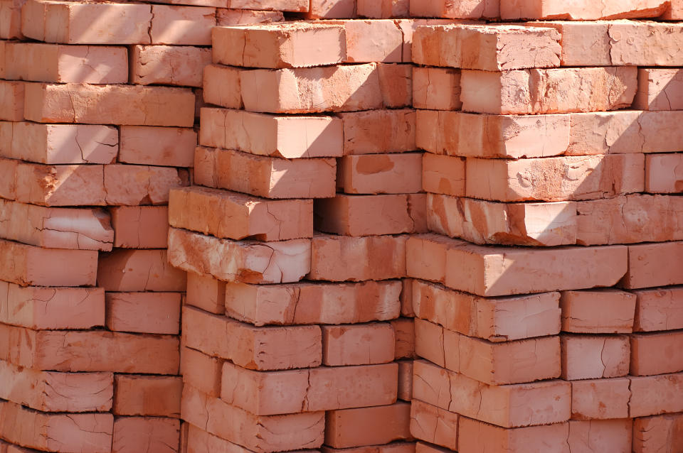 Brick production also risks being impacted by the rise in gas prices. (Getty)
