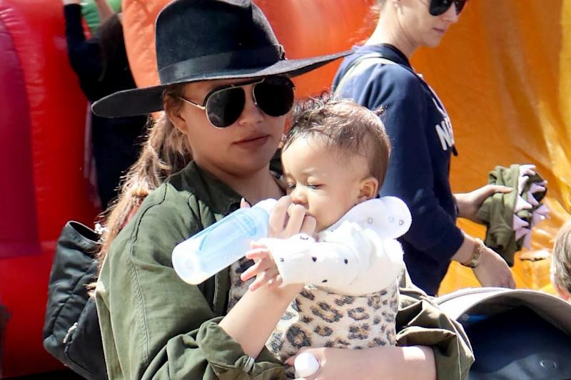 Watch Chrissy Teigen's Son Miles Learning to Walk in Baby Vans Sneakers