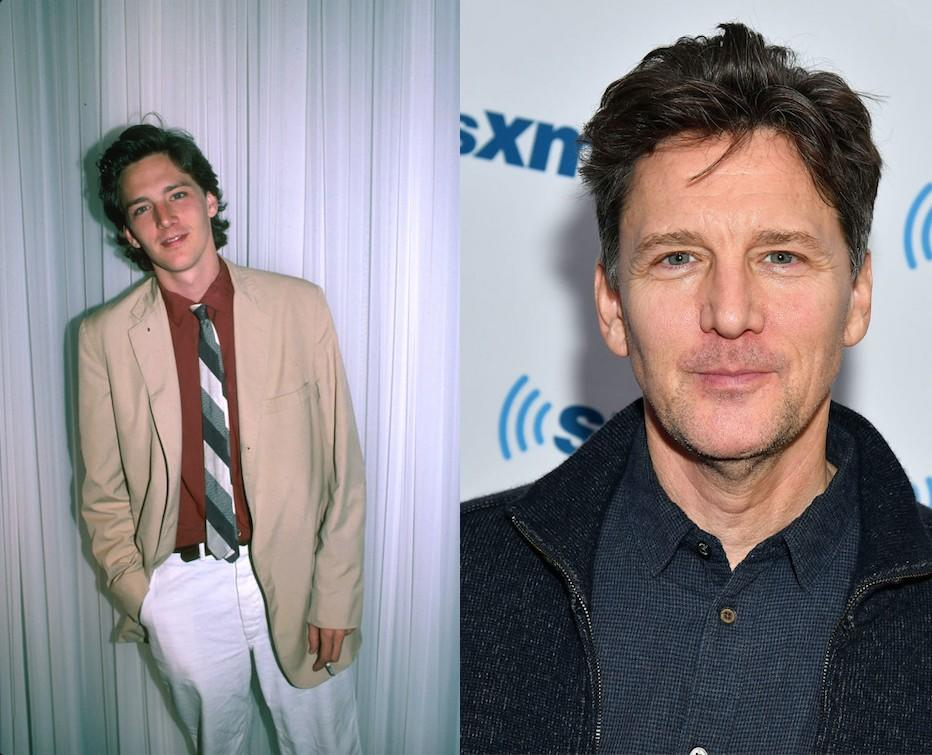 All teenage girls wanted Andrew McCarthy to be their boyfriend in the 80s. Pictured left in the 80s and right in 2017. (Getty)