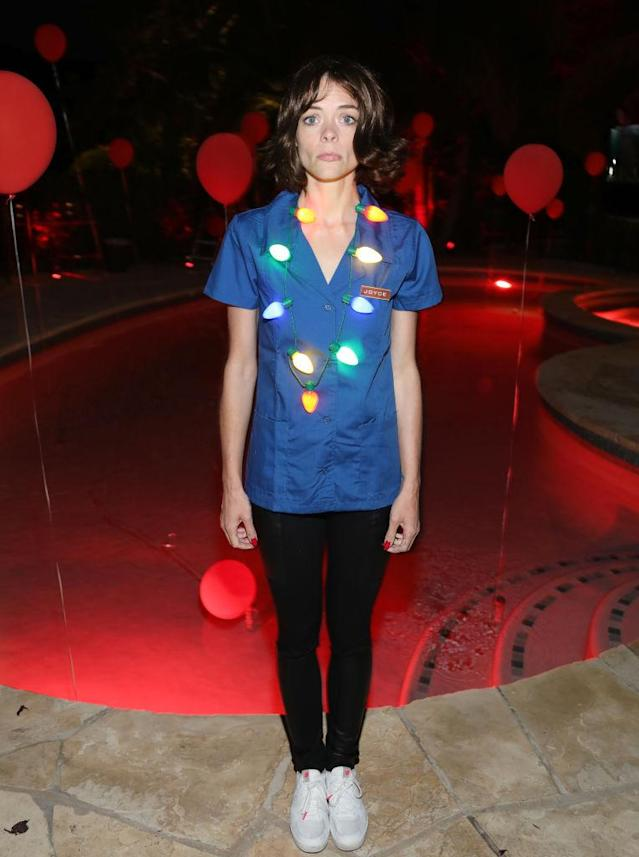 <p>Costumes of characters from TV's <em>Stranger Things</em>, including Winona Ryder's Joyce, were popular this year. King's was pretty good, no? (Photo: Jerritt Clark/Getty Images for Just Jared) </p>