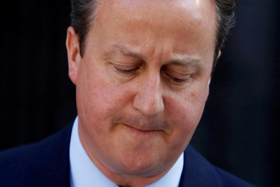 Former UK prime minister David Cameron lobbied heavily for Greensill. Photo: Phil Noble/Reuters