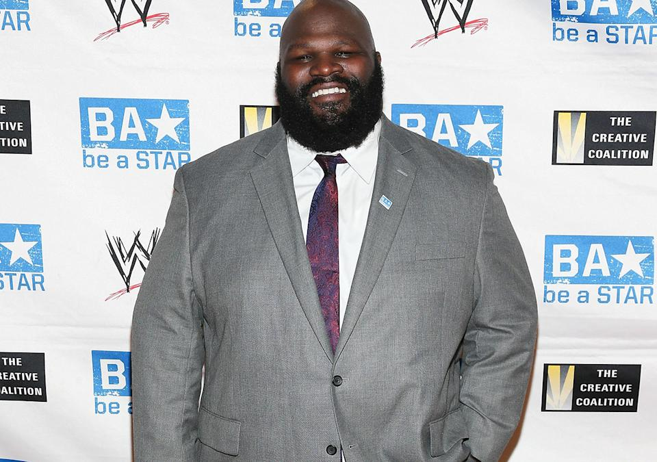 Mark Henry, pictured here at the