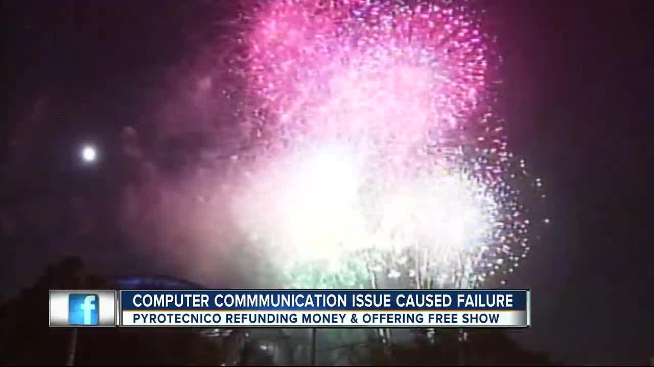 Completed investigation gives reason for Channelside 4th of July fireworks mishap