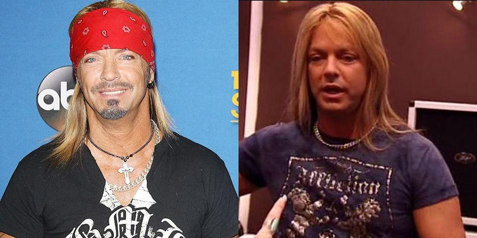 <p><strong>Signature: </strong>Bandana headbands</p><p><strong>Without Signature: </strong>On the Poison singer's reality dating show, <em>Rock of Love with Bret Michaels</em>, without his go-to bandana. </p>