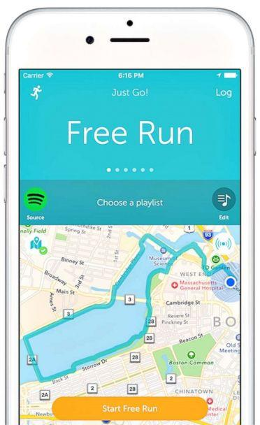 PHOTO: Runkeeper helps you set goals and track your progress. (handout)