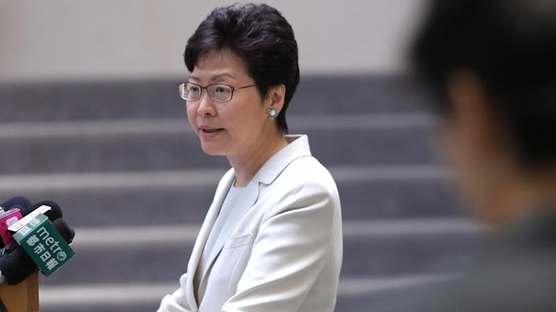 Hong Kong needs national security law but only when time is right says Carrie Lam, after top Beijing official says Andy Chan's pro-independence speech showed city's 'inadequacies'