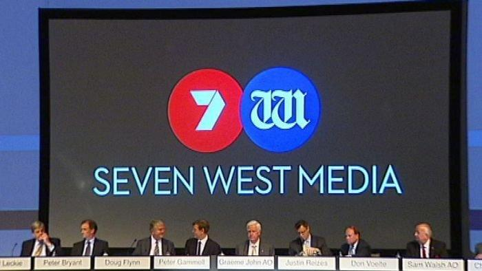 Seven West shares head south on $109m loss