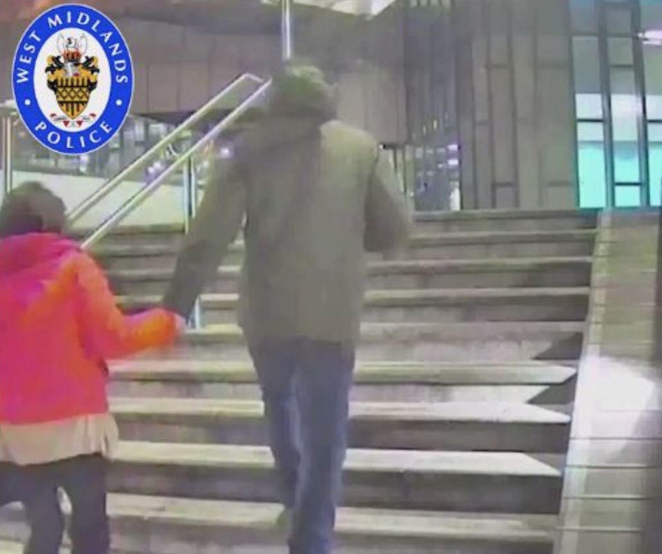 Bailey (right) was caught on camera with Charlotte Teeling on the night of the murder. (PA/West Mids Police)